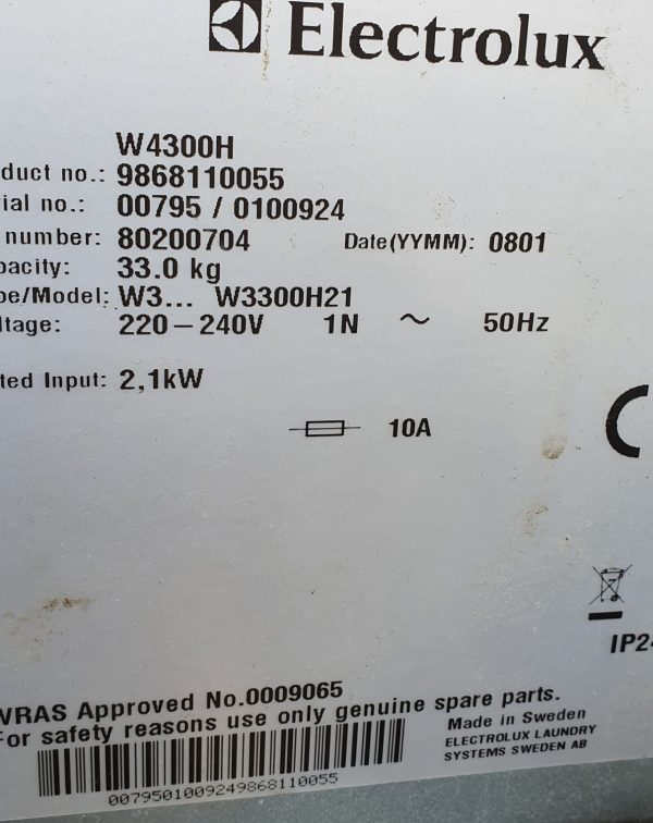 W4300H plate
